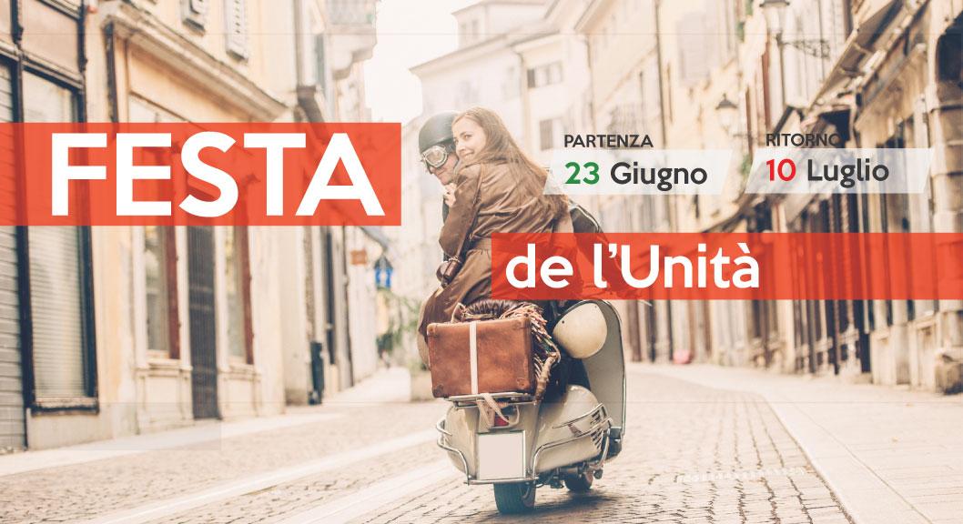 Festa de l'Unità 2016 - Rivoli - Giardini La Marmora 23 giugno - 10 Luglio