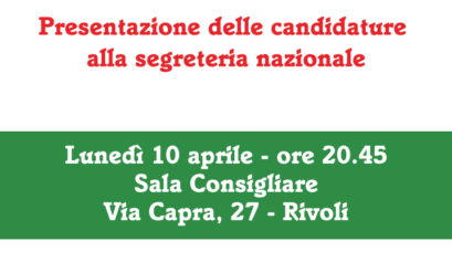 Presentazione Candidature Primarie 2017 | Manifesto