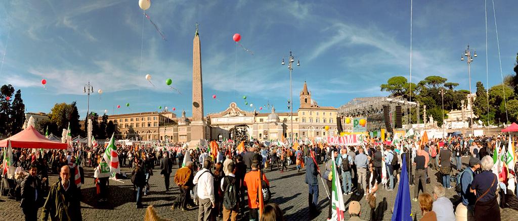 Partito Democratico di Rivoli - Manifestazione a Roma