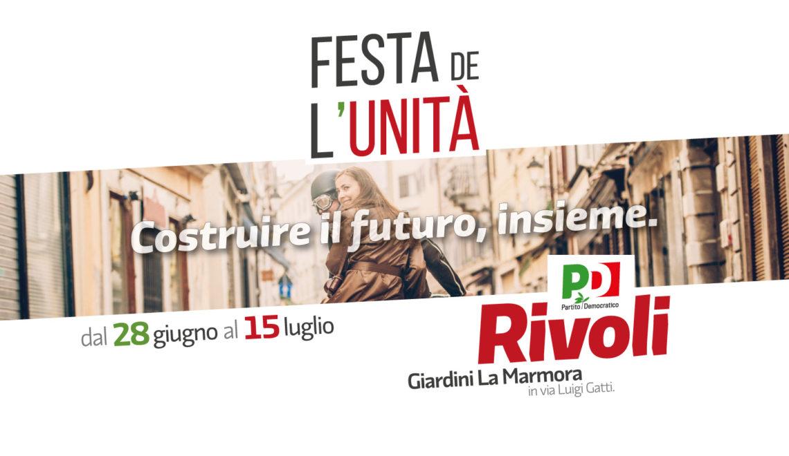 Festa de l'Unità Rivoli – 2018