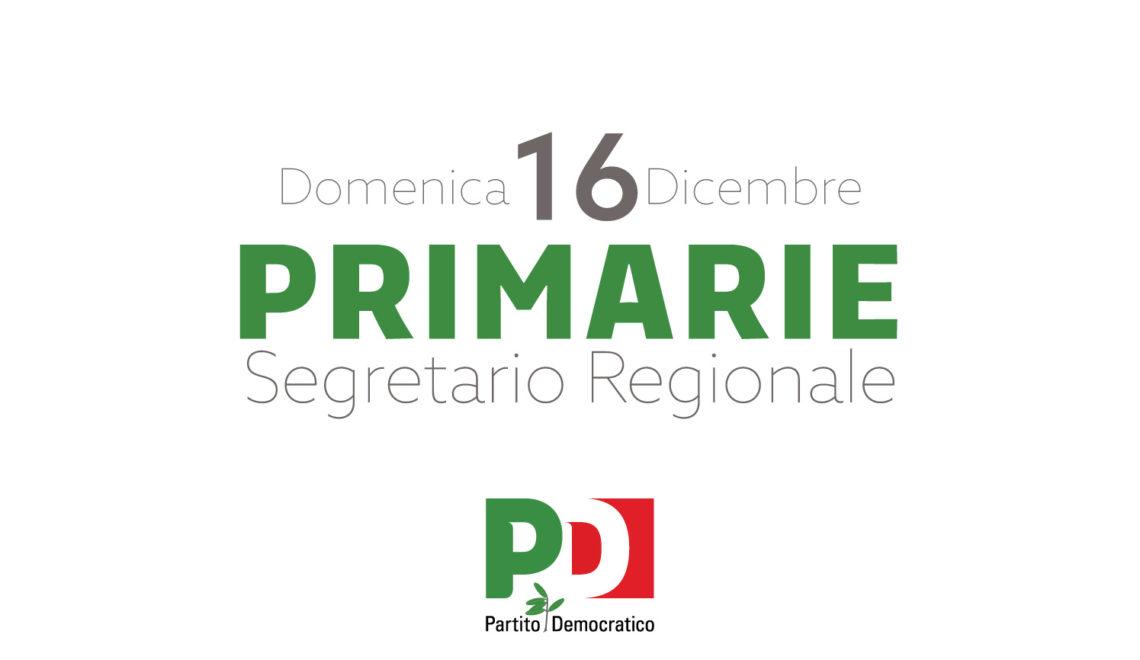 Primarie Regionali - 16 Dicembre 2018
