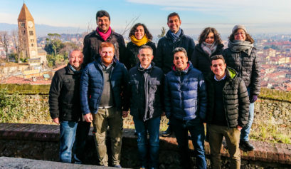 Il candidato sindaco del PD con una squadra di giovani al Castello di Rivoli