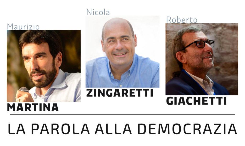 Primarie 2019: i candidati alla segreteria nazionale\