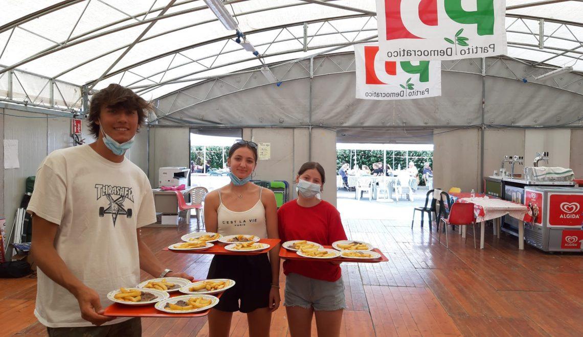 Volontariato sociale alla Festa de L'Unità